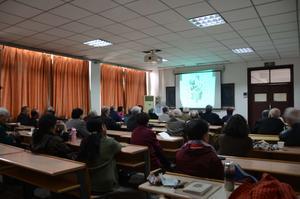 2016年4月12日市老科協在天津科學會堂舉辦老年健康講座